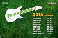 grøn koncert 2016 billet
